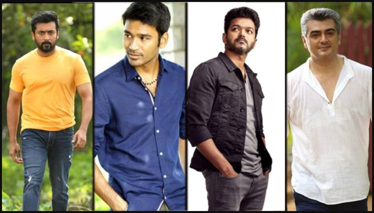Tamil Cinema leading actors interested in other language Producer Films
